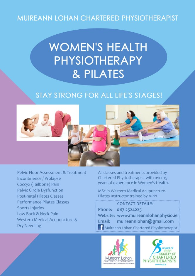 Womens Health Pilates Poster Web Version